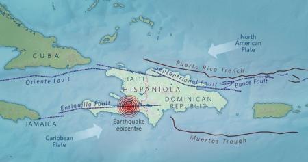 Mapa de la isla de Hispaniola (Foto Nature)