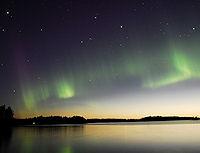 Auroras observada en Finlandia. Foto: Tom Eklund