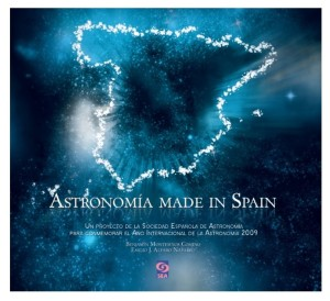 Portada del libro 'Astronomía Made in Spain'