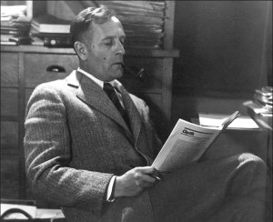 Edwin Hubble, en enero de 1940. Photo: California Institute of Technology