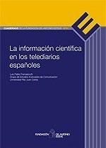 Portada del informe: La información científica en los telediarios españoles
