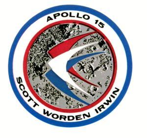 Logo de la misión Apolo 15