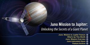 La misión Juno de la NASA
