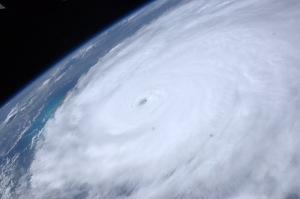 El huracán Irene